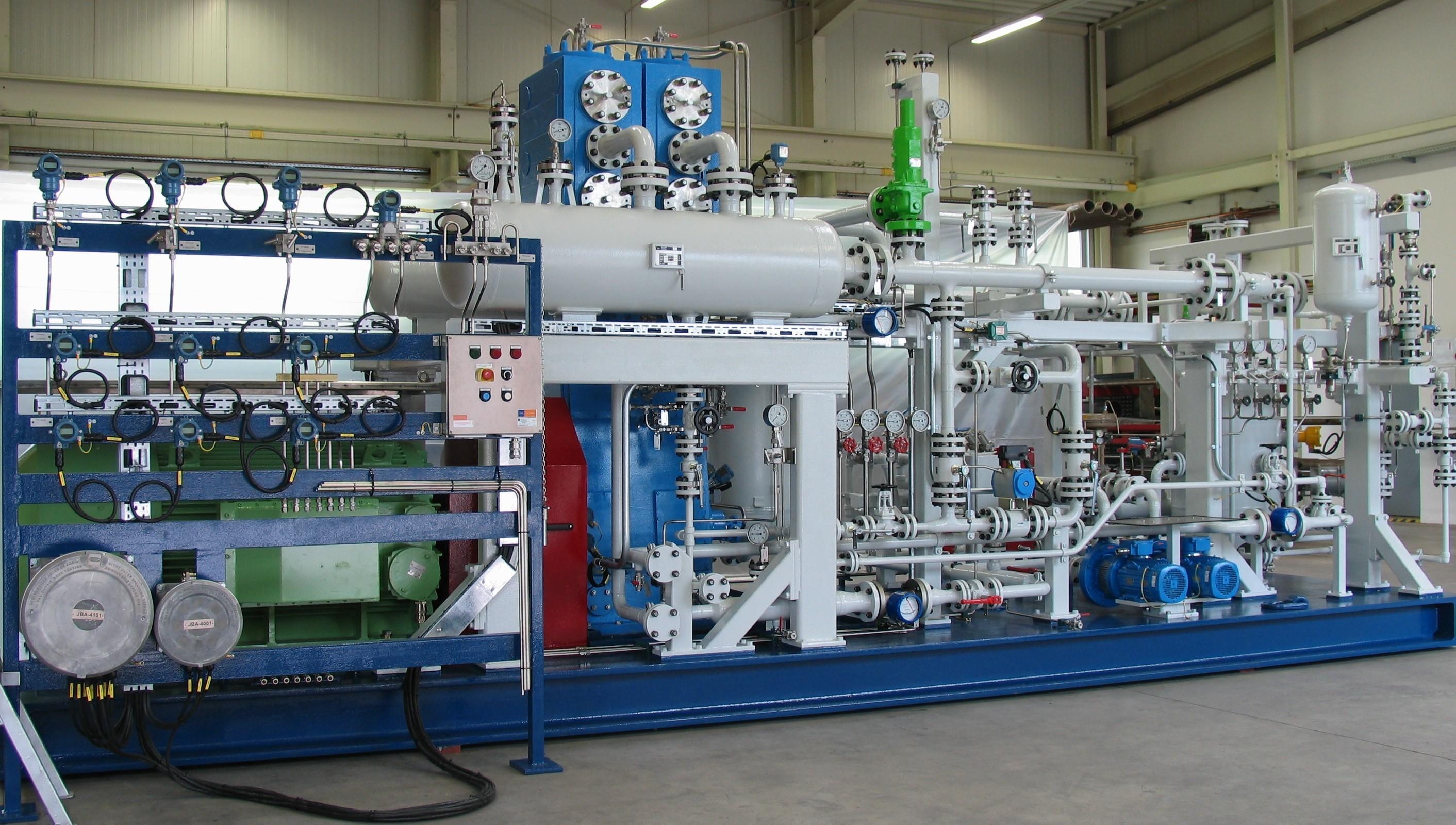 Kreisgasverdichteranlage
