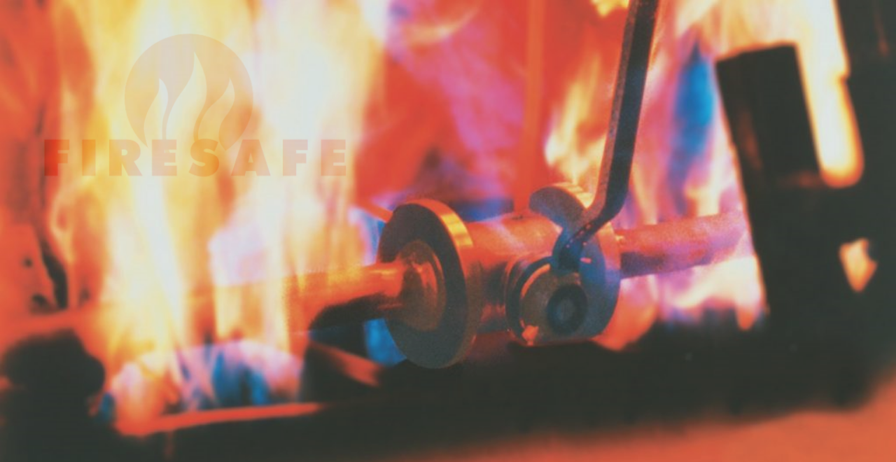 Kugelhahn mit Fire Safe Zulassung