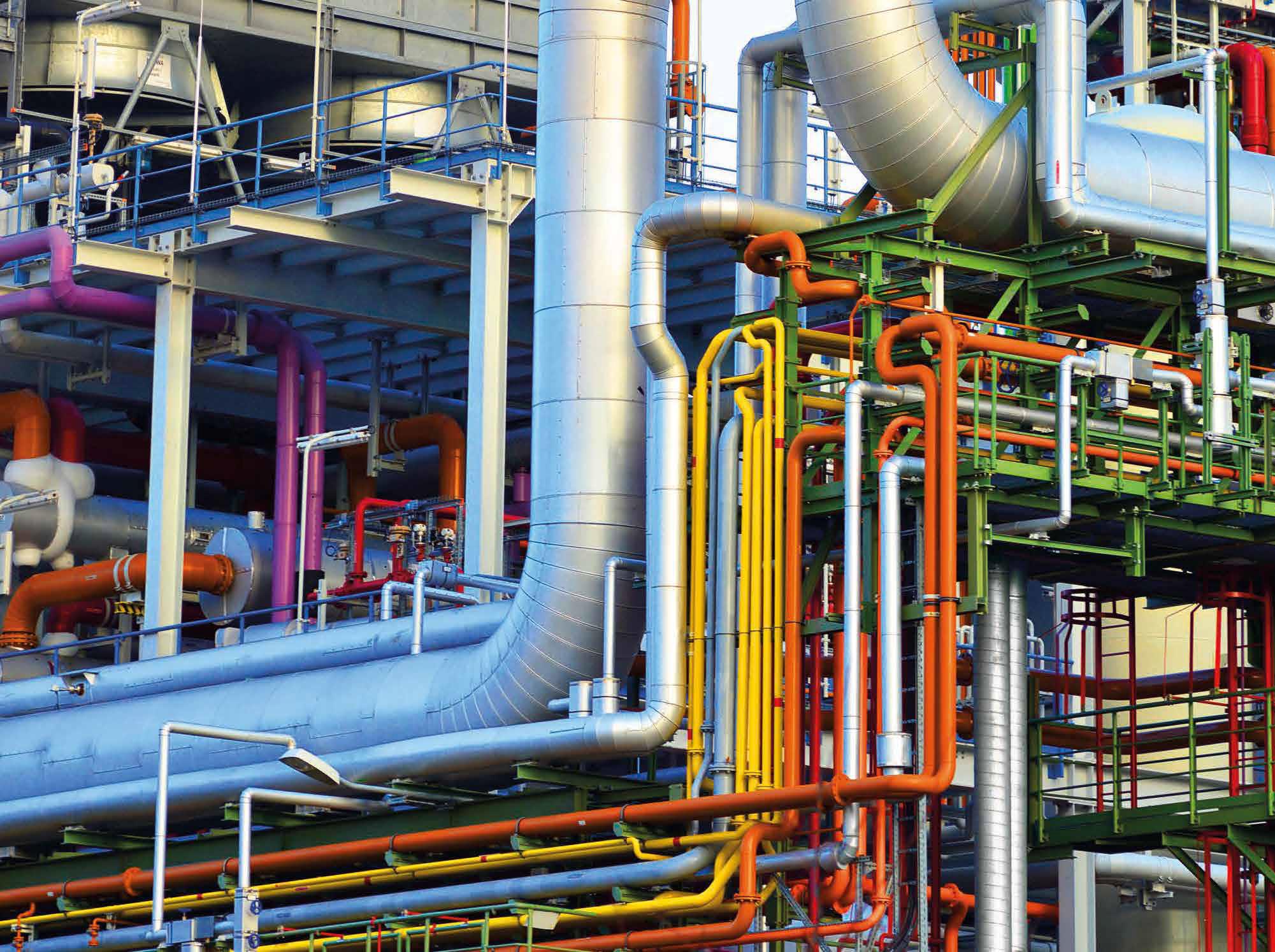 Kugelhähne für Chemieanlagen