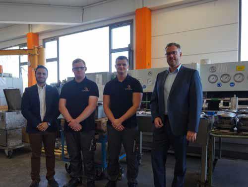 Neue Auszubildende bei Rudolf von Scheven GmbH